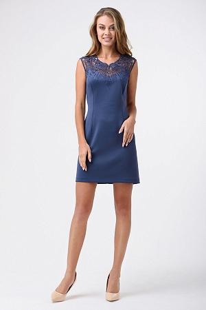 Купить Платье с вышивкой, выше колена