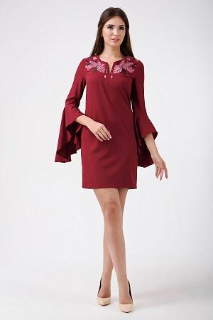 Купить Нарядное платье с вышивкой