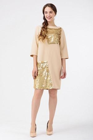 Купить Коктейльное платье с пайетками