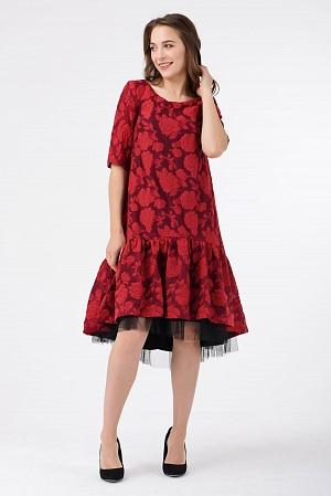 Купить Нарядное платье по колено
