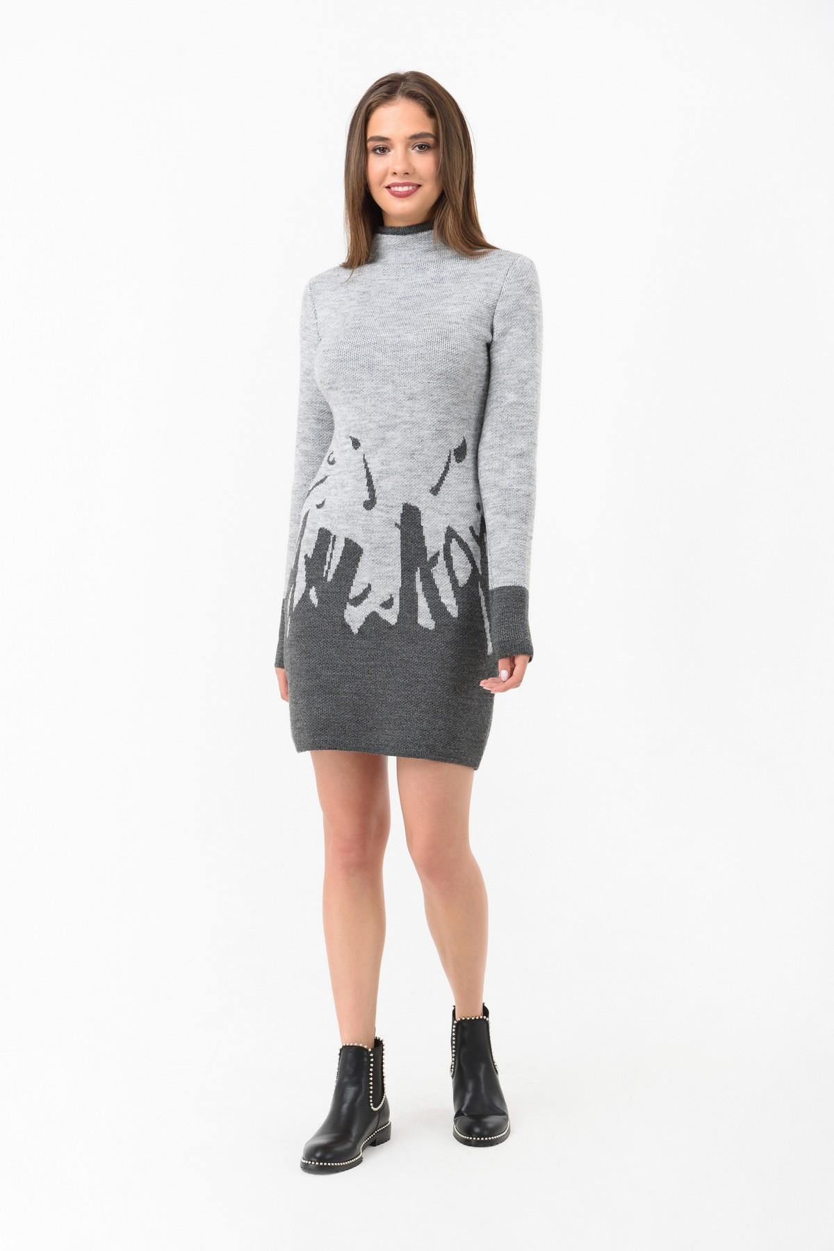 вязаное платье купить осеннее платье за 1 190 грн в интернет