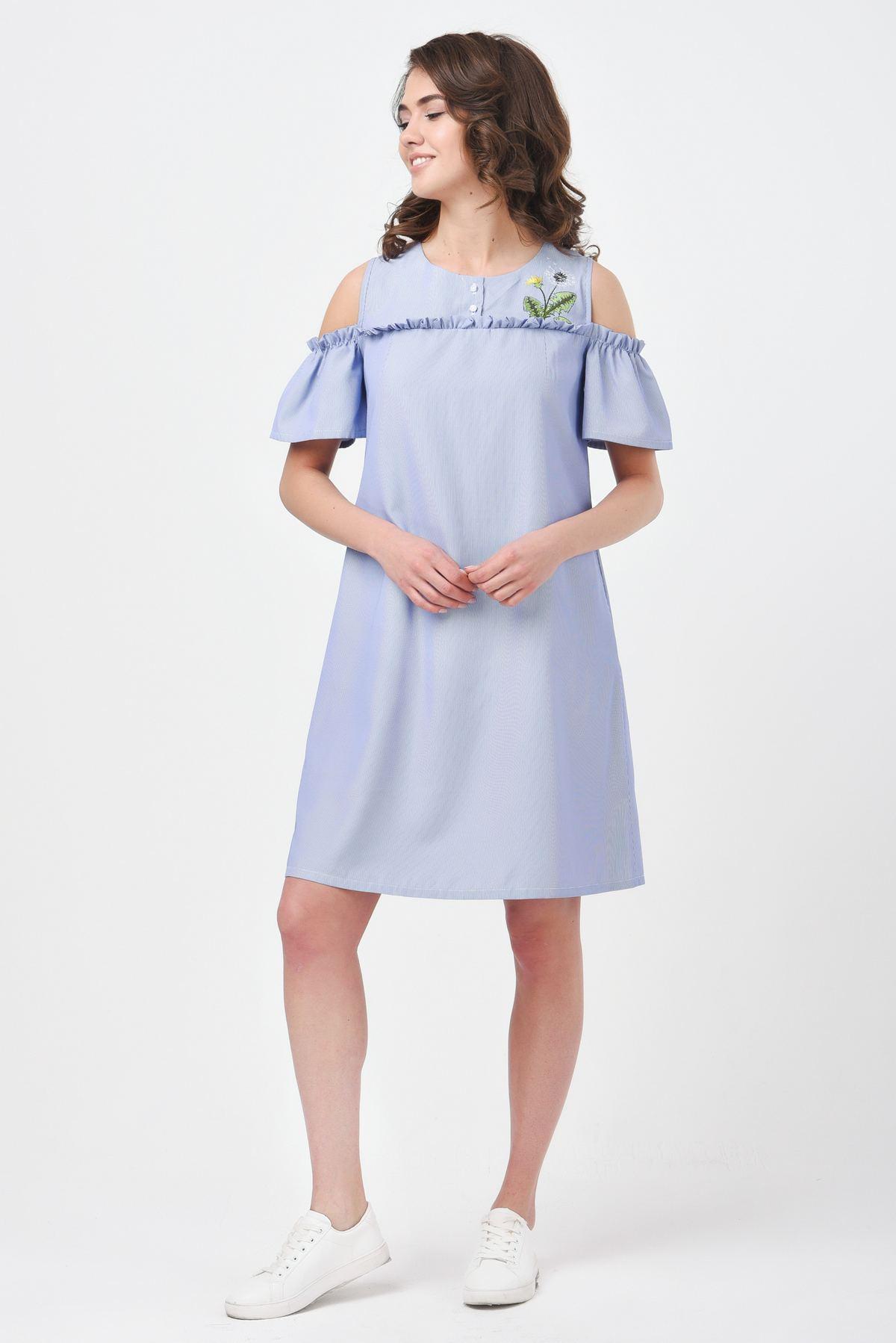 bc0d446d02f0 Купить Летнее платье с открытыми плечами в интернет-магазине ...