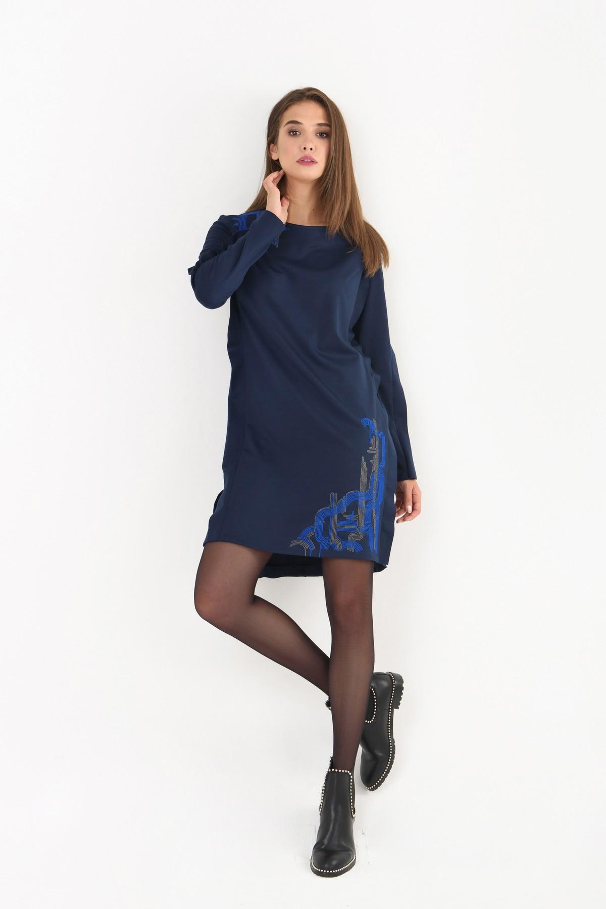 362532d9c964 Купить Осеннее платье прямого силуэта в интернет-магазине RicaMare ...
