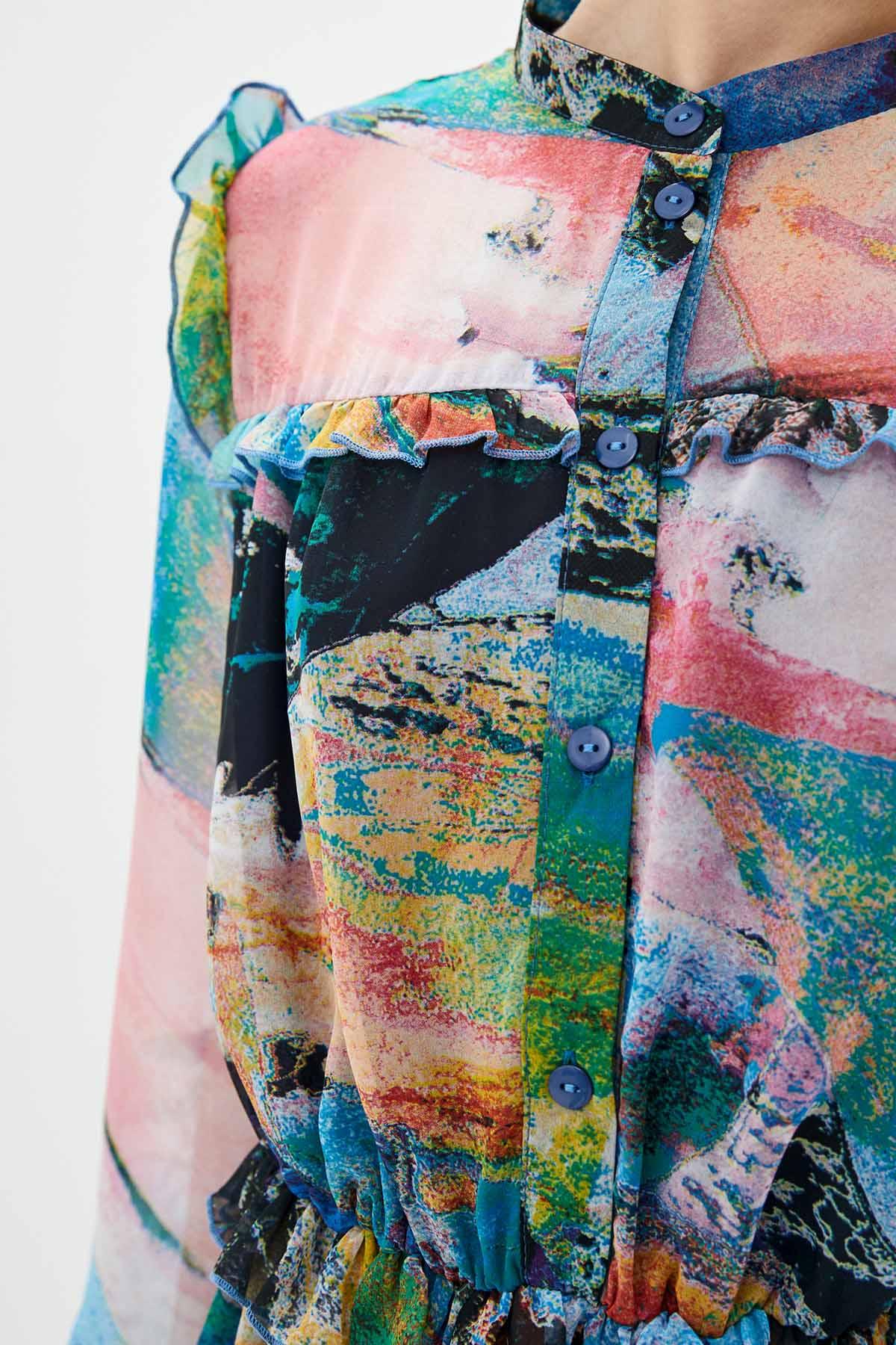 купить шифоновый платок в интернет магазине