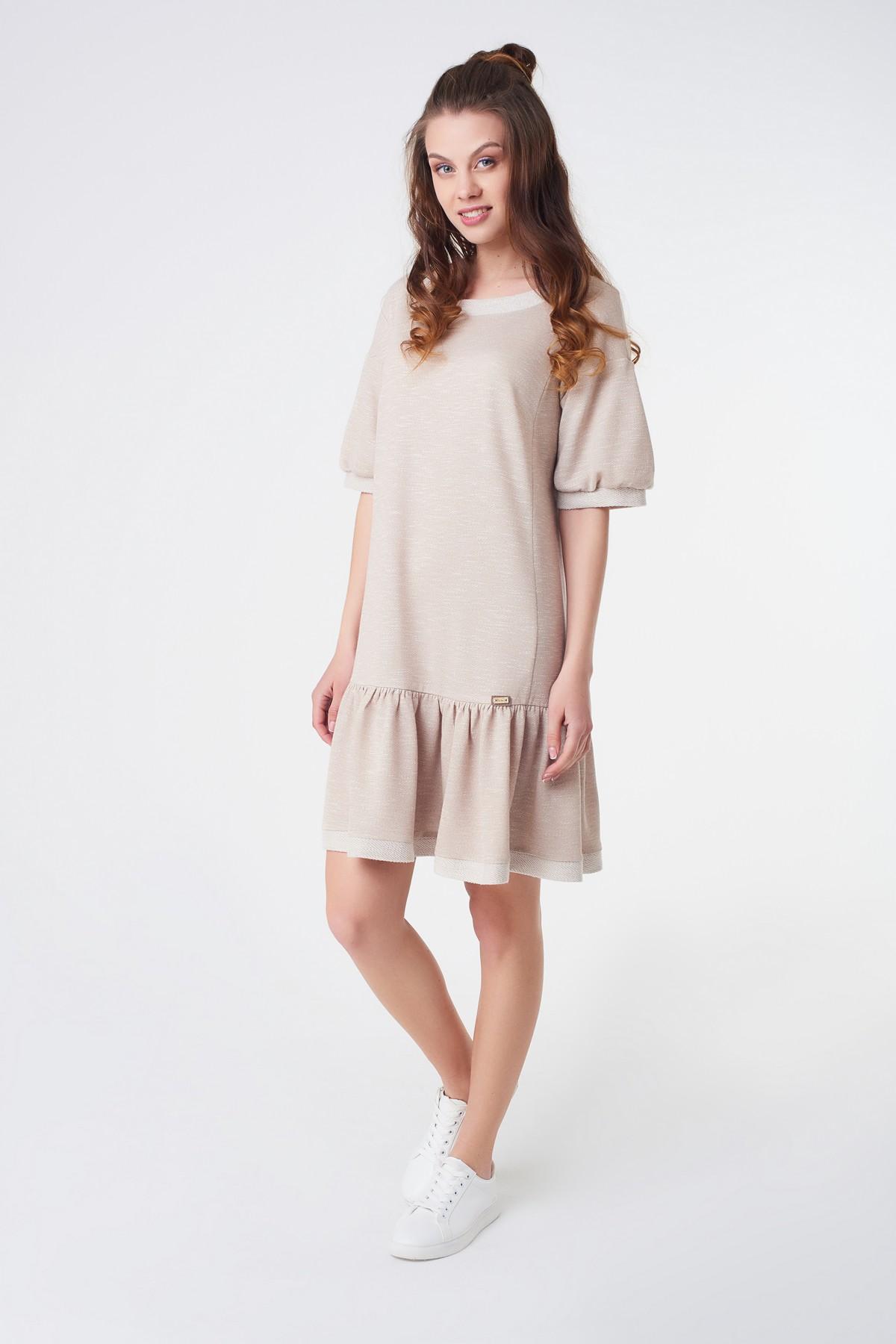 616a58f8caa8 Купить Спортивное платье с воланами в интернет-магазине RicaMare по ...