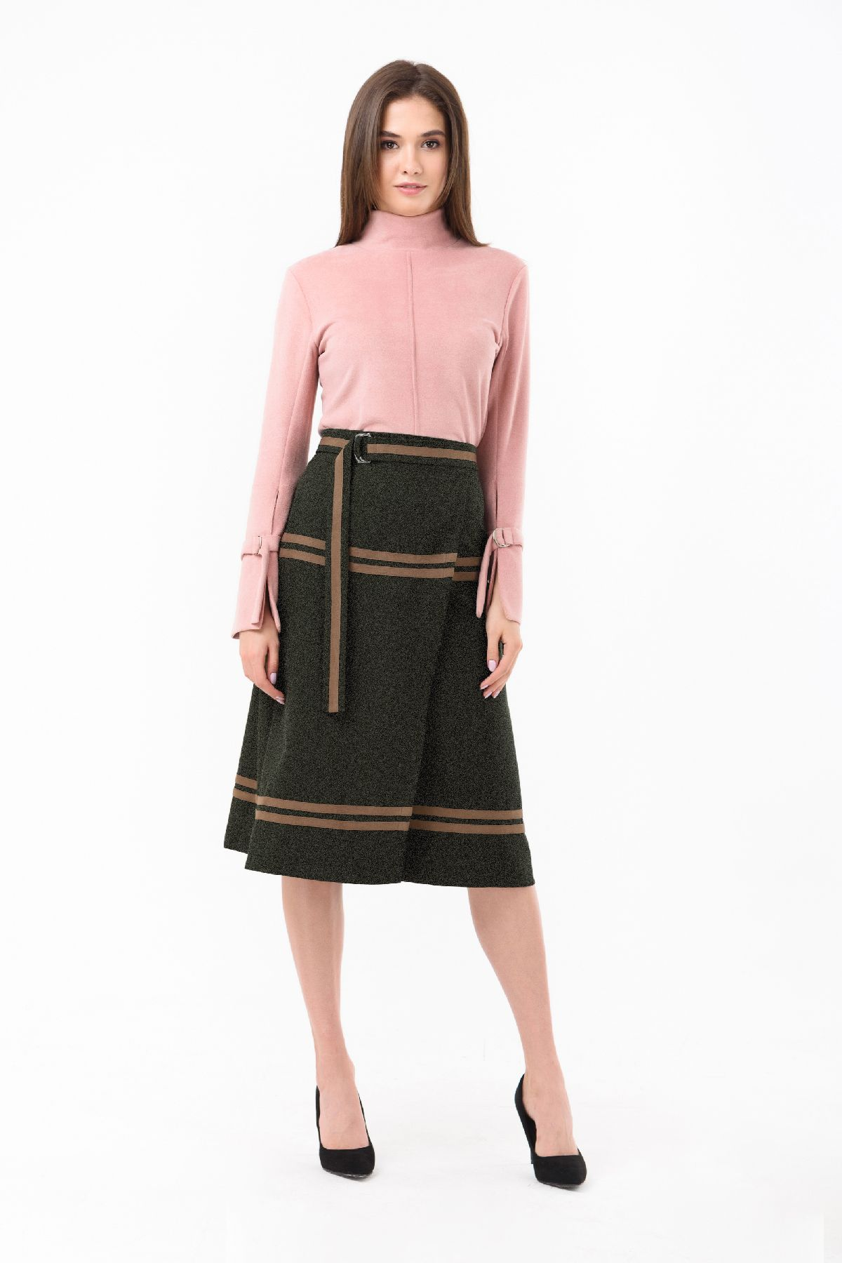 b8dcd11242e Классическая юбка а-силуэта RM1844-18DU