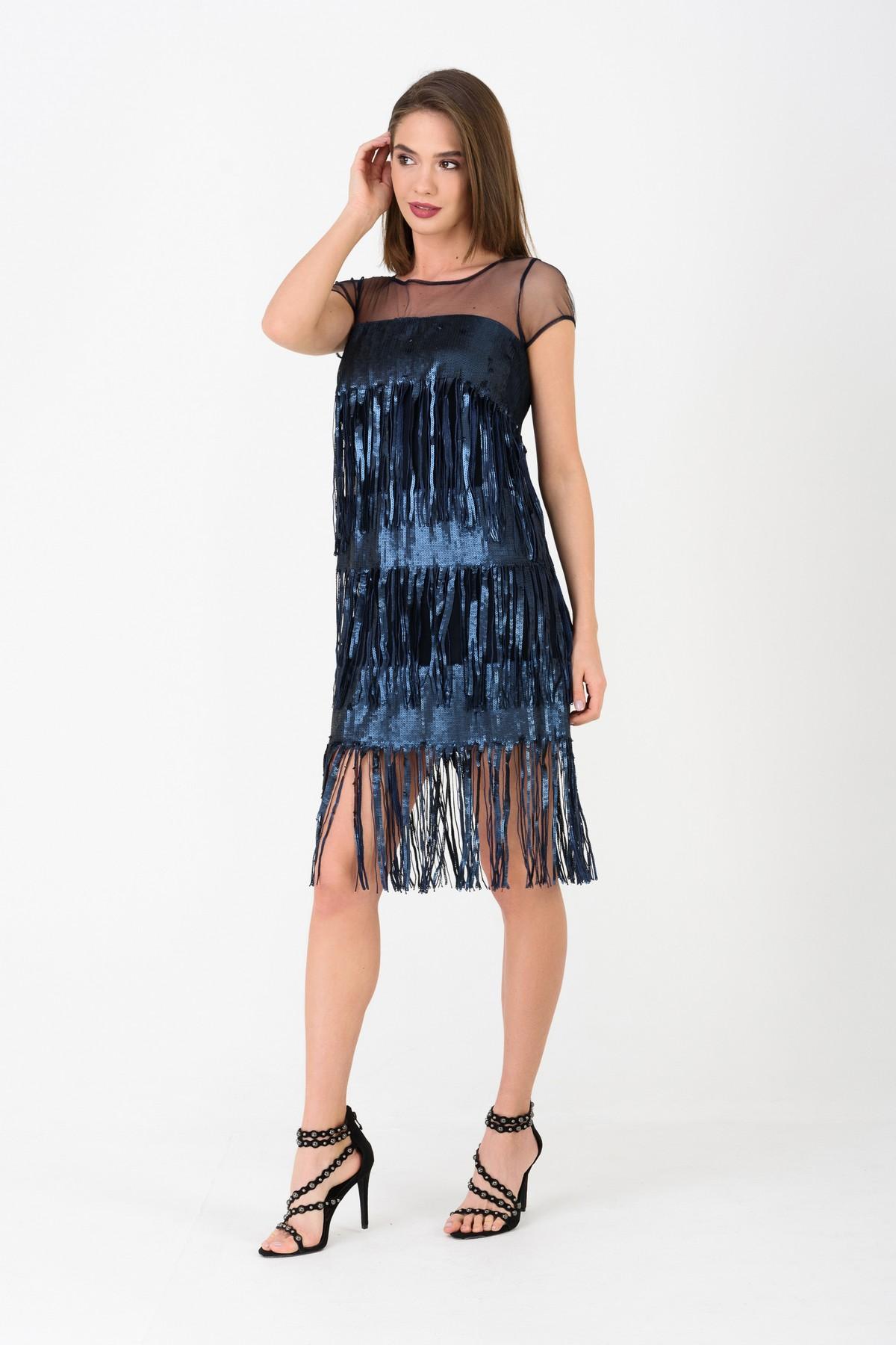 купить платье с пайетками в магазине