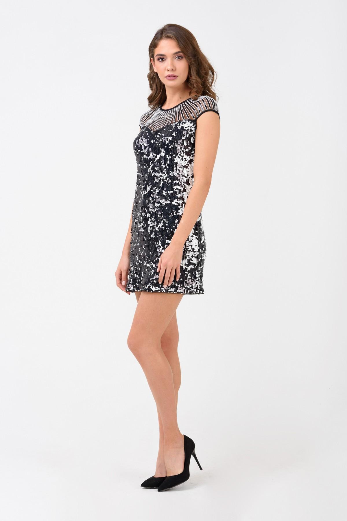 cc4e33cbe99ff19 Коктейльное платье из пайеток | Купить коктейльное платье за 2 590 ...