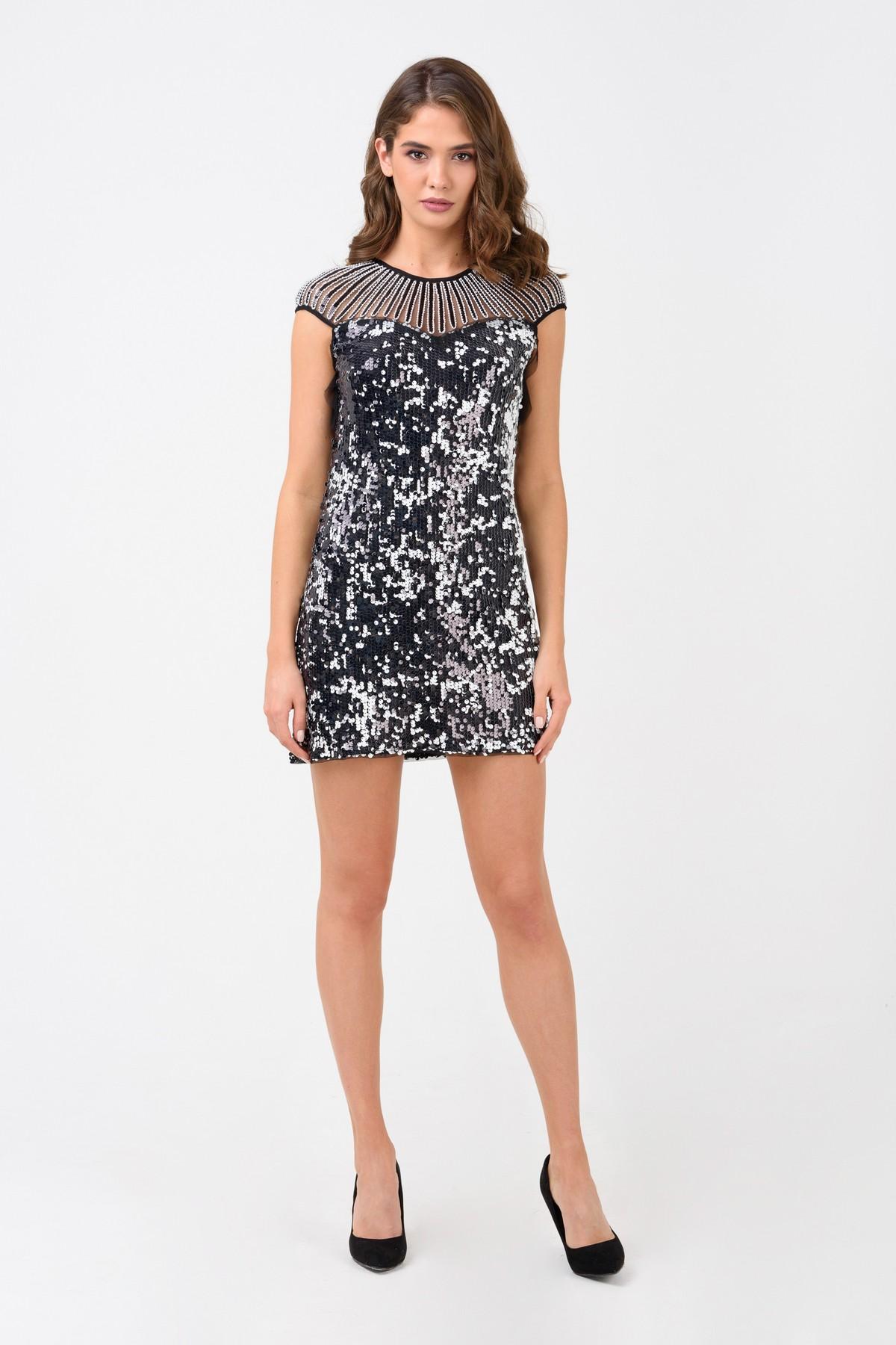 4ef06865b73 Коктейльное платье из пайеток RM1250-18VC