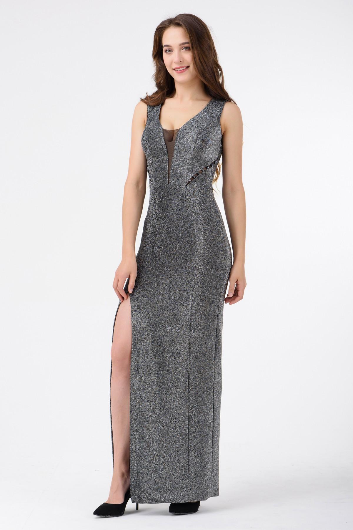 f37d47e0adc6d15 Вечернее платье в пол с глубоким декольте | Купить вечернее платье ...