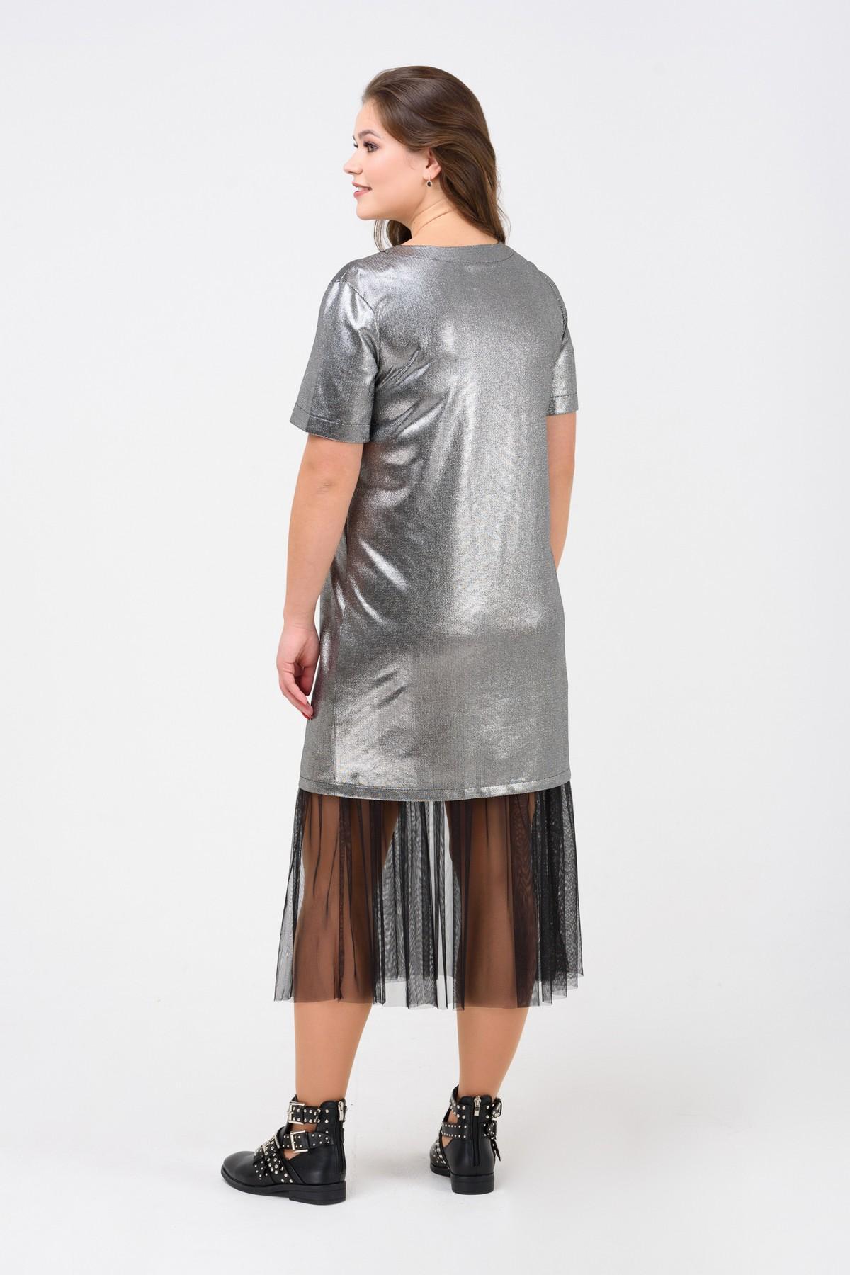 1e806e06efc Блестящее коктейльное платье