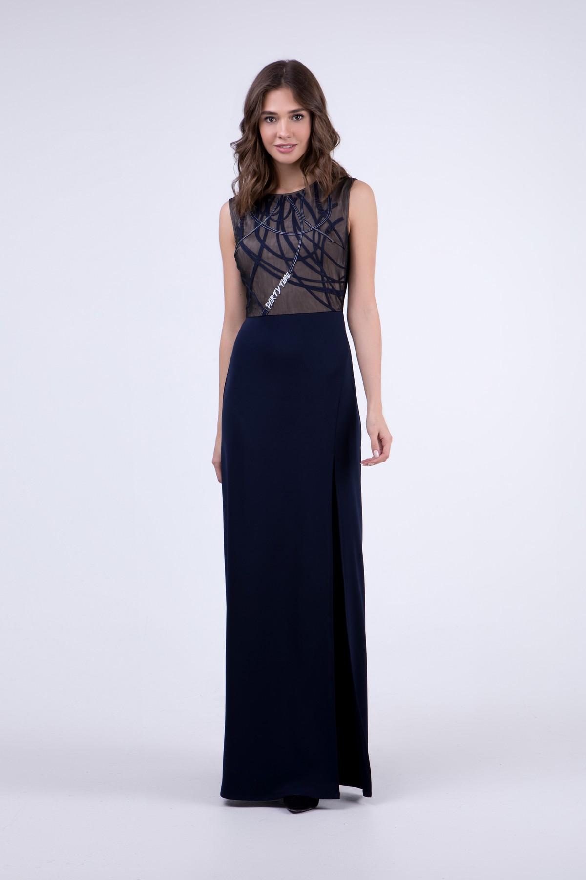 bc4a01397c5 Вечернее платье в пол с разрезом RM1922-18VP