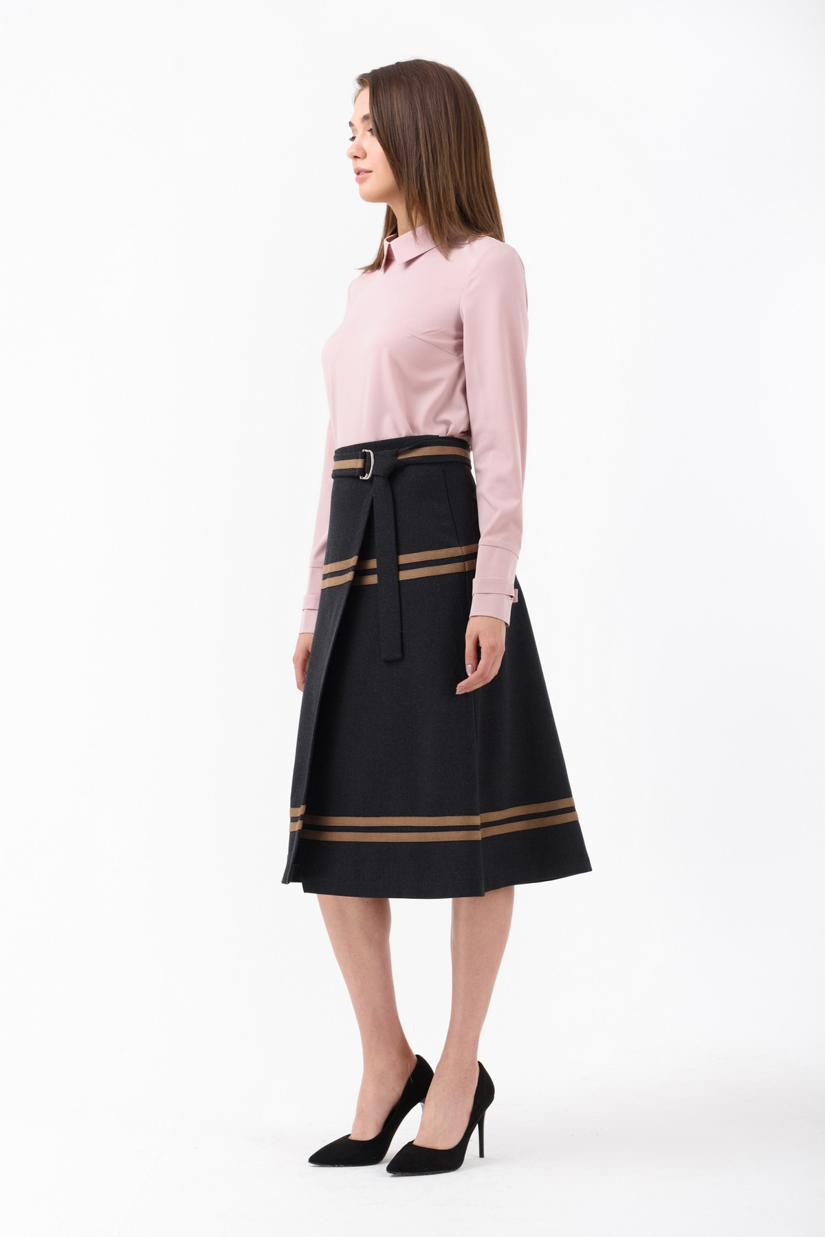 dc99ddc4e3a Классическая юбка а-силуэта