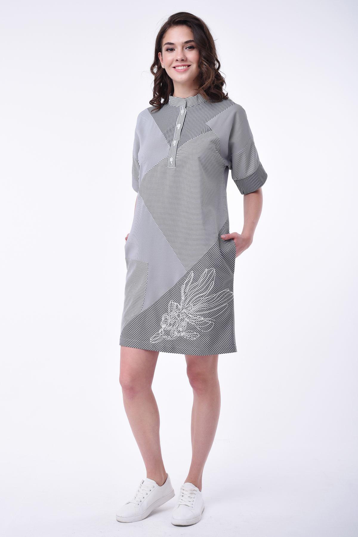 b946fb0983be Летнее платье в полоску RM1166-18DD