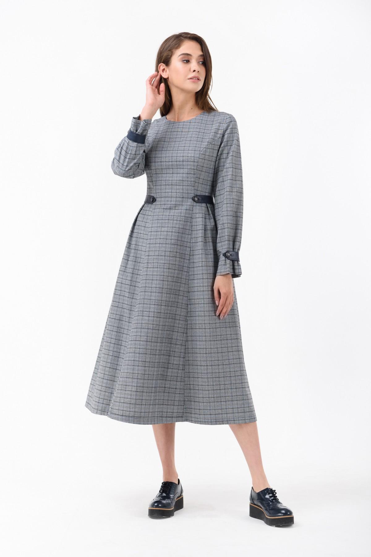 84c1de1b06d Осеннее платье в офисном стиле