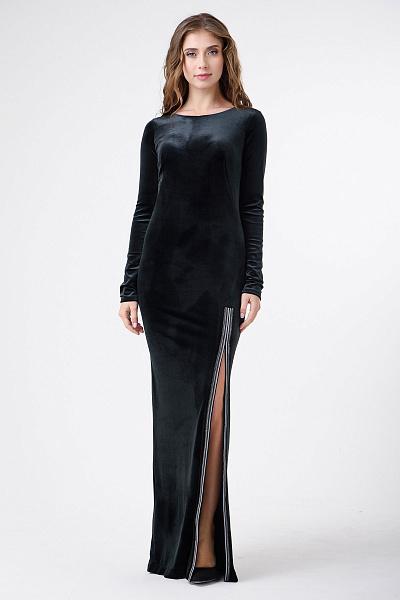 df849527da5 ... Купить Вечернее платье в пол с разрезом