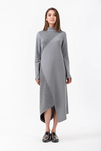 d764d6603080 Купить Длинное осеннее асимметричное платье Купить Длинное осеннее  асимметричное платье ...