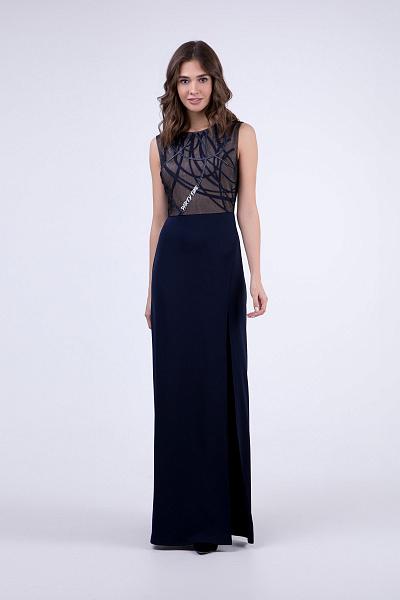 7b94a15a153 ... Купить Вечернее платье в пол с разрезом ...