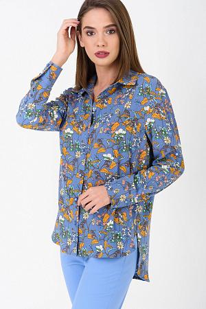 1ddf5b2ed6a Рубашка с цветочным принтом