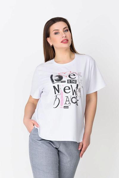 c6d1588489ca3 Купить женскую футболку большого размера в Интернет-магазине RicaMare